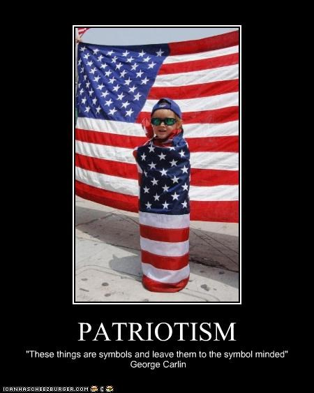 demotivational funny george carlin patriotic - 4301010944