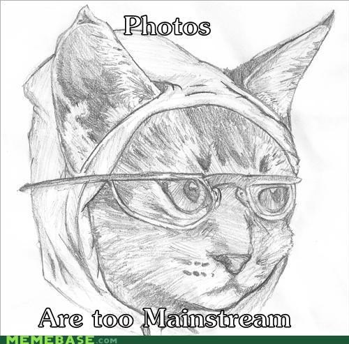 Hipster Kitty - 4301107968
