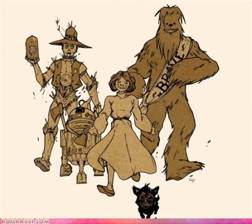 art,illustration,sci fi,star wars,wizard of oz
