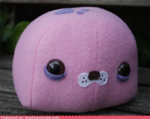 beaver pink Plush purple thistle - 4301298688