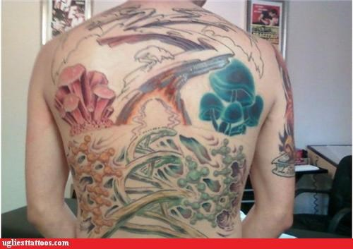 tattoos Mushrooms - 4302273792