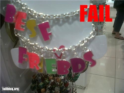 best friends bff failboat g rated Jewelry spelling - 4302575872