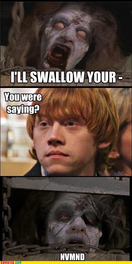 evil dead From the Movies gingers magic no soul Ron Weasley souls swallow your soul - 4302919168