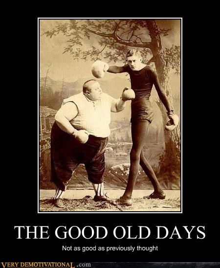 boxing gloves,fat people,history,vintage