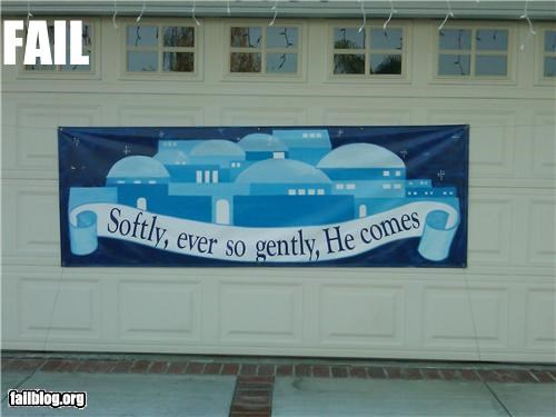 bad idea,banner,christmas,failboat,holiday,innuendo,poor planning