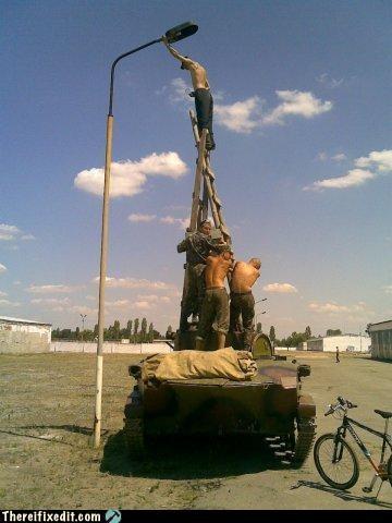 bad idea ladder light military tank - 4303473664