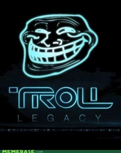 Movie poster problem troll troll face tron - 4303774976