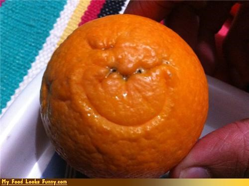 face fruit grinch orange smile - 4304127232