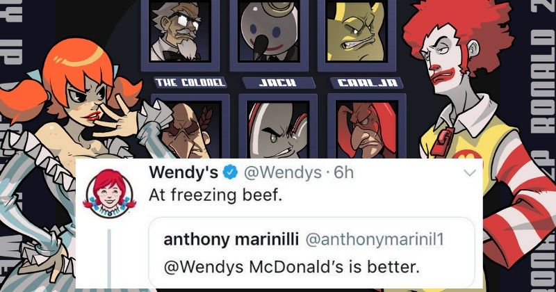 Wendy's Gets Brutally Savage and Commits Murder After Twitter Tries to Talk Sh*t