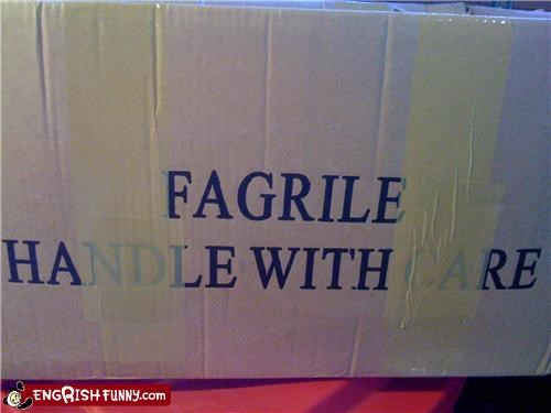 box foreign fragile
