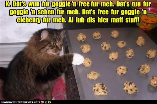 caption captioned cookie dough cookies counting goggie math noms unfair - 4304871168