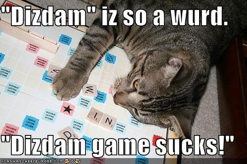 board games caption captioned cheating dizdam games Hall of Fame neologism scrabble words - 4305172480