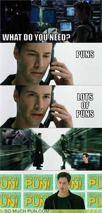 famous,guns,lots,need,needs,neo,puns,quote,rhyming,the matrix