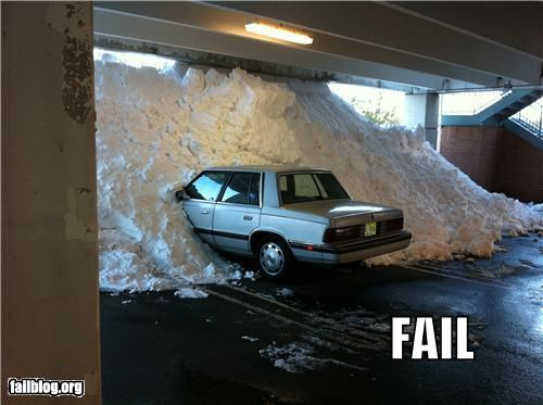 cars failboat g rated parking snow snowpocalypse winter - 4305747968