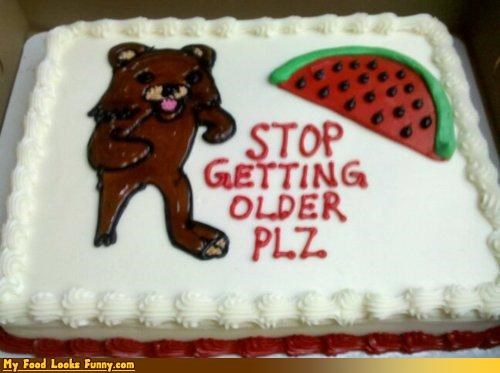 birthday cake frosting pedobear watermelon - 4307128320