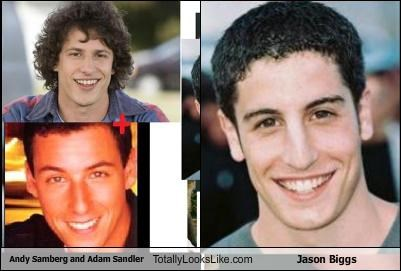 actors adam sandler andy samberg comedians Jason Biggs