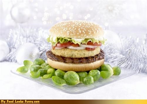 brussels sprouts burger burger king burgers and sandwiches fast food hamburger UK whopper - 4307677952