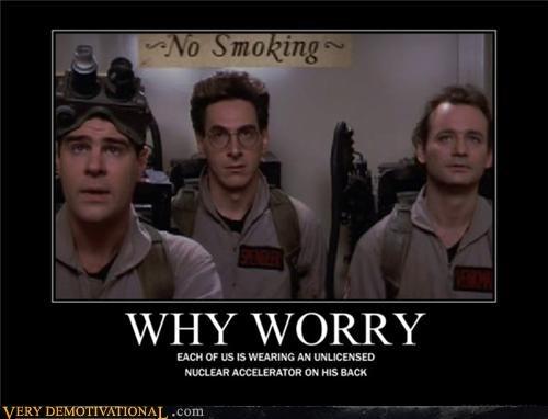 bill murray dan akroyd ghost busters harold ramis no smoking why worry - 4307936768