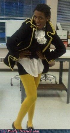 frilly Pirate wtf yellow - 4308609024