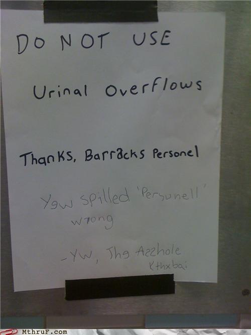 grammar nazi misspelling signs spelling - 4309032704