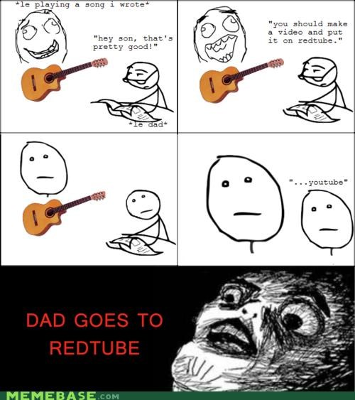 guitar,like father like son,Memes,redtube,youtube
