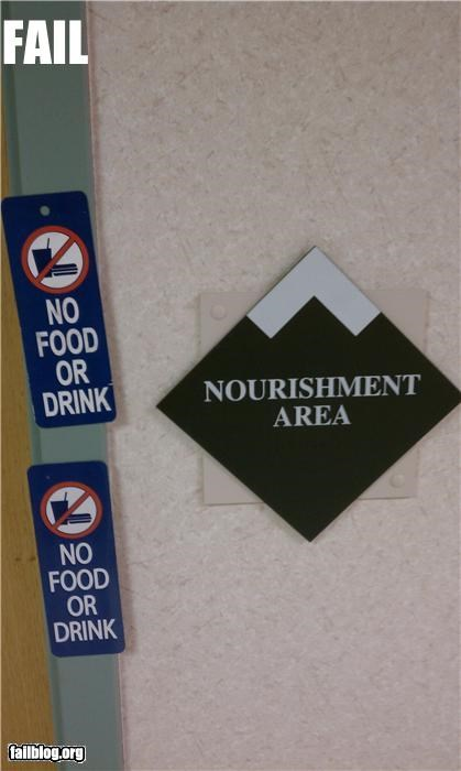 failboat,food,g rated,irony,no food,nourishment,signs