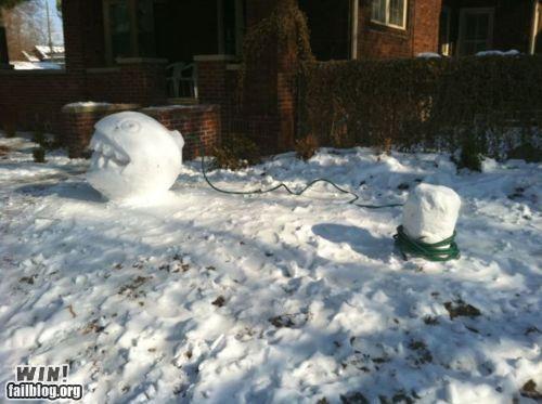 mario nerdgasm snow winter Winter Wonderland - 4309766400