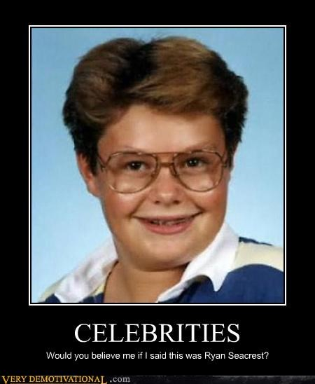 CELEBRITIES Would you believe me if I said this was Ryan Seacrest?