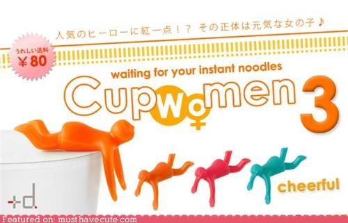 accessory lady lid noodles timer woman - 4310389760