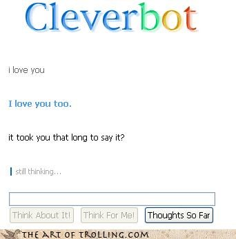 Cleverbot its-hard love men or-women typical
