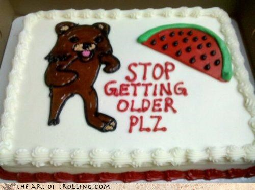 birthday,cake,IRL,melancholy,old,pedobear,watermelon