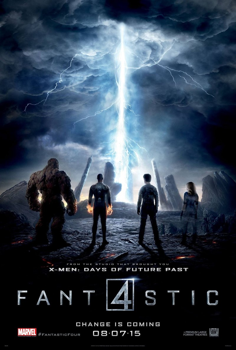 generic,movie poster,beam of light,fantastic 4