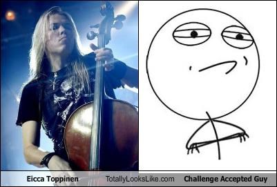 challenge accepted guy,eicca toppinen,meme,musician