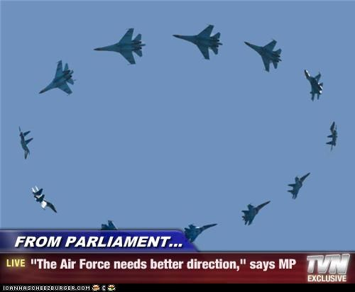 air force blue angels circle direction fighter jets flying parliament