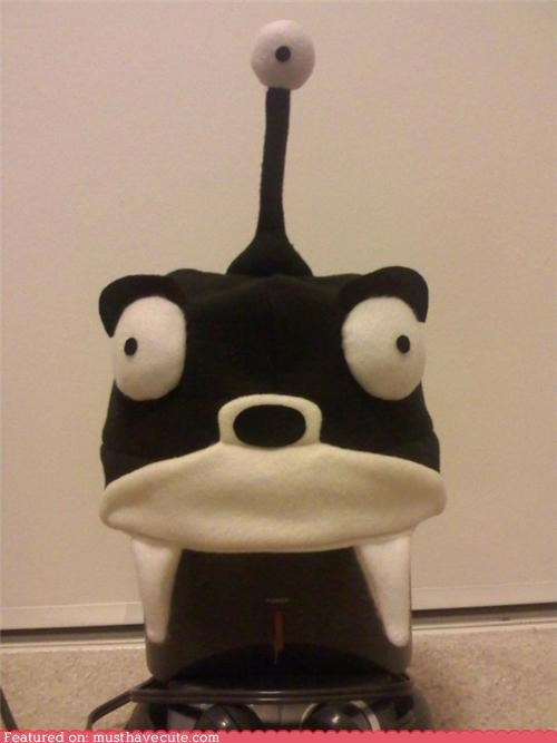 fleece,futurama,hat,nibbler