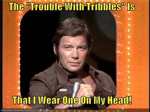 "The ""Trouble With Tribbles"" Is That I Wear One On My Head!"