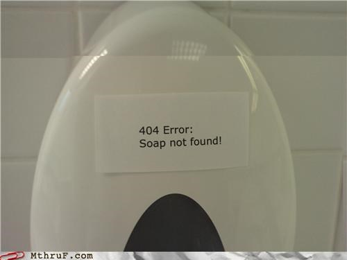 404 bathroom error funny page not found soap - 4317746944