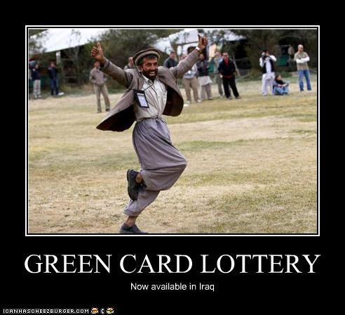 GREEN CARD LOTTERY Now available in Iraq