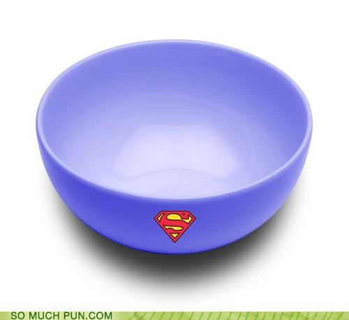 bowl,Clark Kent,container,football,homophones,literalism,logo,lyrics,man,parody,secret identity,song,steel,sufjan stevens,Super,super bowl,superman,supper