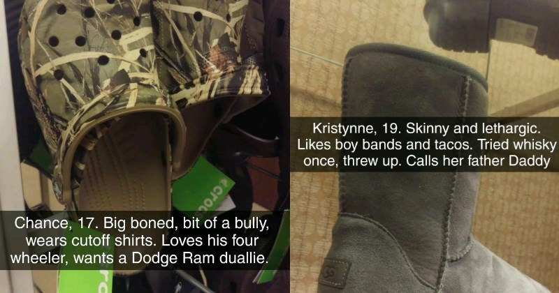 Shoe Store Worker Hilariously Stereotypes Shoes Based On Their Likely Wearers