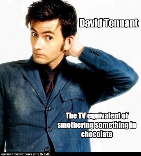 actor celeb David Tennant funny Hall of Fame sci fi - 4320120320