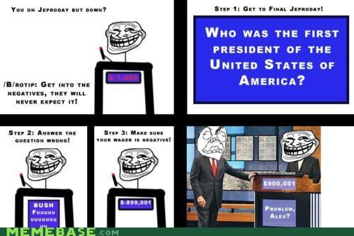 fun with math game show Jeopardy troll face - 4320426496