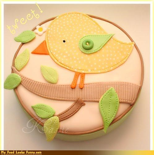 baby bird epicute fabric fondant shower - 4320742656