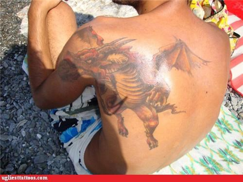 dragons tattoos - 4320901376