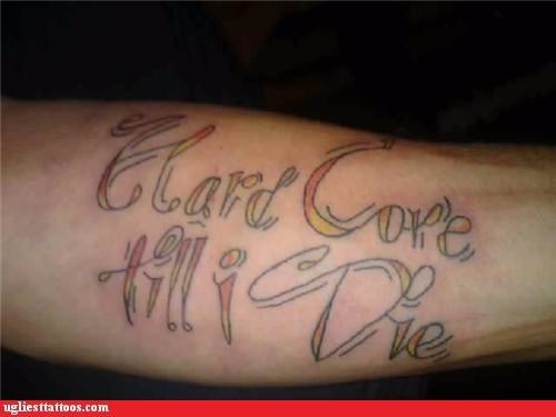 bad,text,tattoos