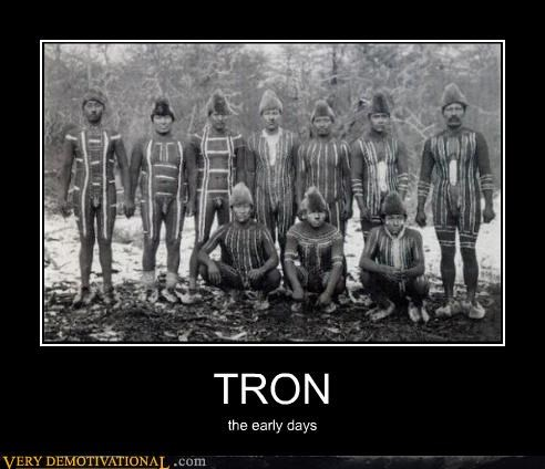 TRON the early days