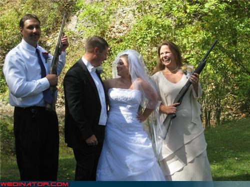 bride dont-mess-with-texas fashion is my passion funny bride picture funny groom picture funny wedding photos groom mom and dad mother of the bride security detail shotgun wedding technical difficulties were-in-love wedding party Wedding Themes - 4322318848