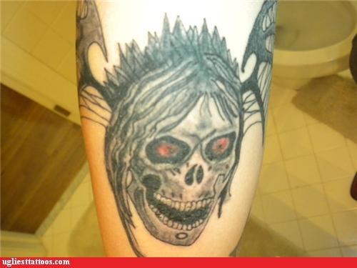 tattoos skulls toilets - 4322574848