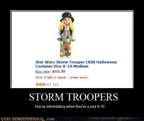 children costume FAIL sad but true star wars stormtrooper - 4322696192