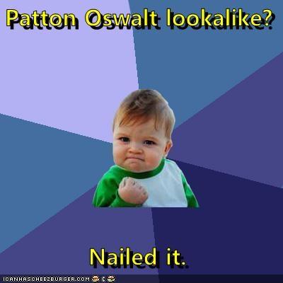 Patton Oswalt Lookalike Nailed It Memebase Funny Memes